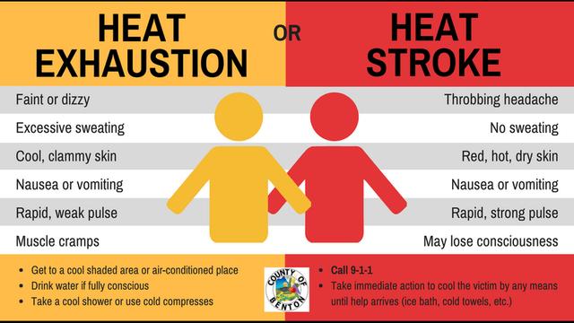 Heat Exhaustion or Heat Stroke? – Avenue 360